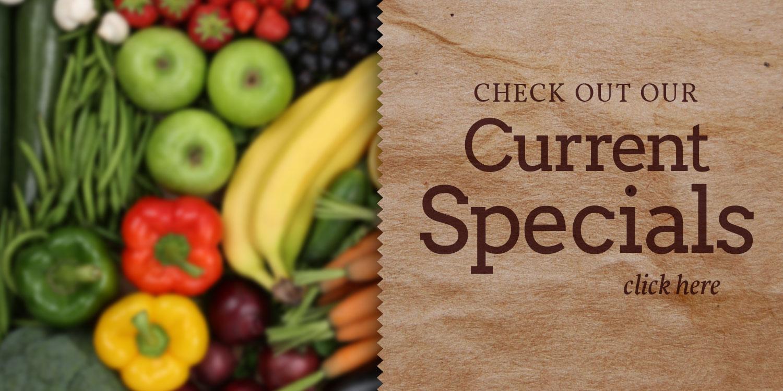 Rutabaga's Etc Natural Food Market Current Specials
